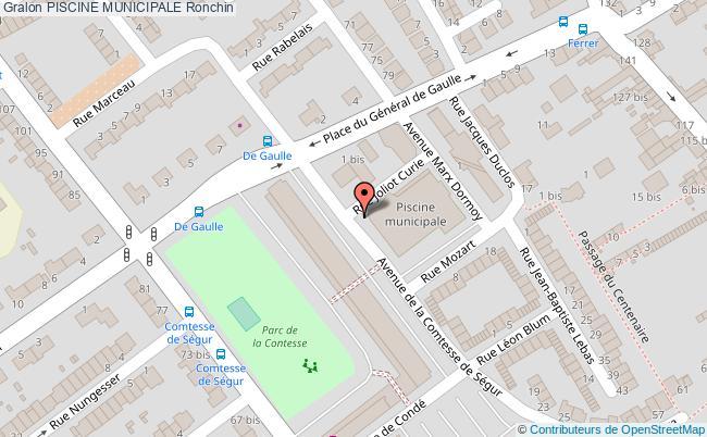 Salle de musculation piscine municipale ronchin for Piscine ronchin
