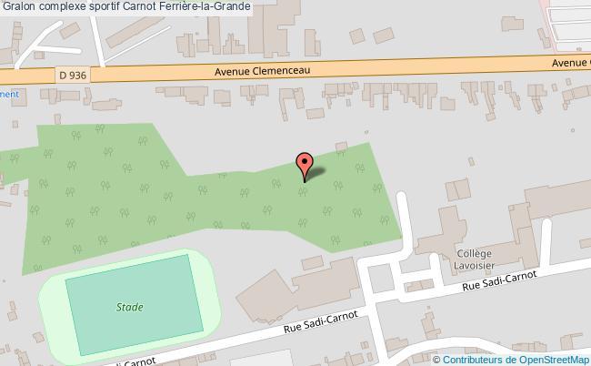 plan Salle Des Sports Carnot