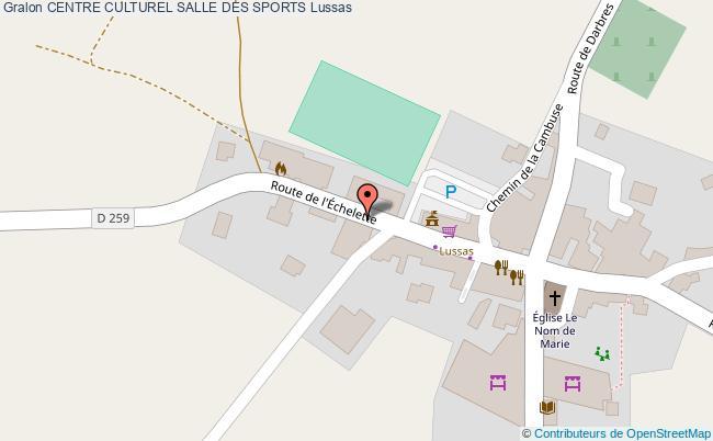 plan Salle Des Sports