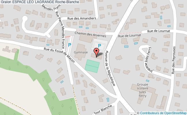 plan Salle Lamartine