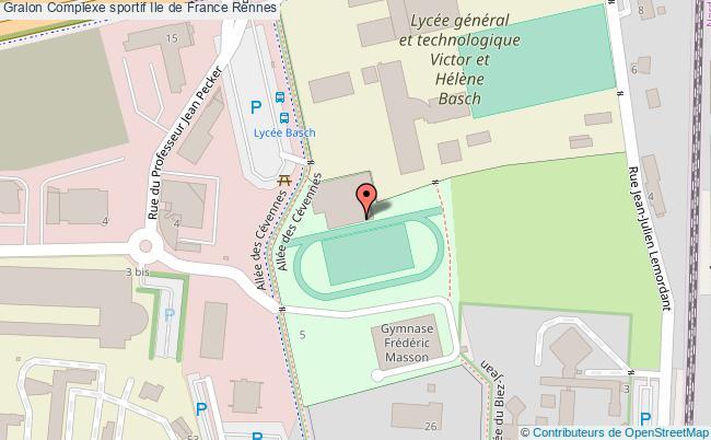 plan Salle Multisports Ile De France