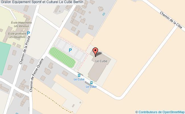 plan Salle Omnisports - Chêne