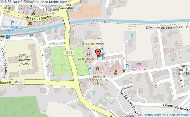 plan Salle Polyvalente De La Mairie