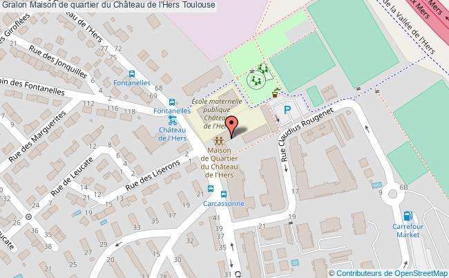 Salle polyvalente haut maison de quartier du ch teau de l 39 hers toulouse - Garage chateau de l hers toulouse ...