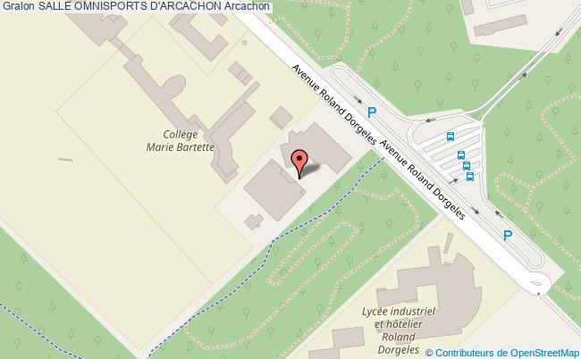 Salle Polyvalente Salle Omnisports D Arcachon Arcachon