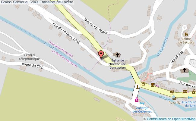 plan Sentier Du Viala