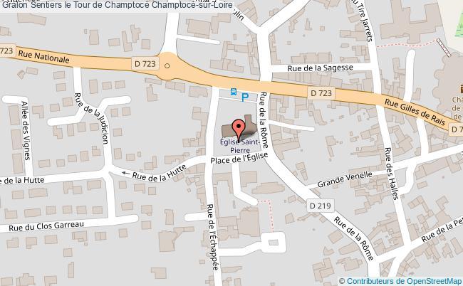 plan Sentier Le Tour De Champtocé