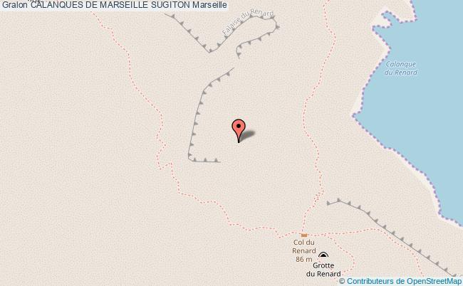 plan Site D'escalade Du Cap Morgiou