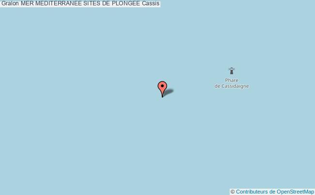 plan Site De Plongee La Bigue Cassidaigne
