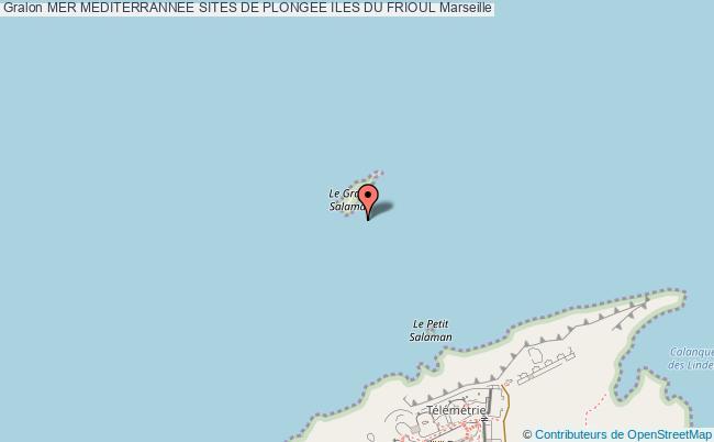 plan Site De Plongee Le Grand Salaman