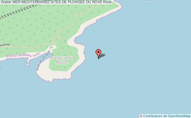 plan Site De Plongee Le Moulon Rade Nord