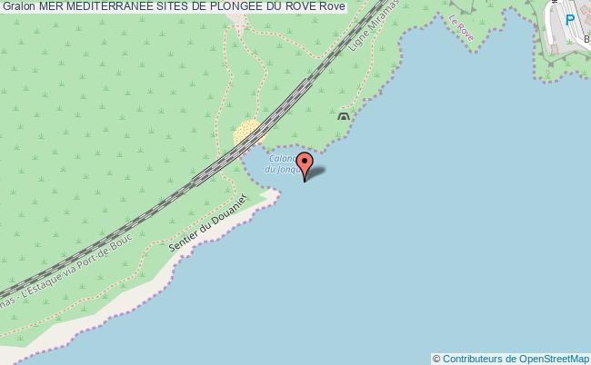plan Site De Plongee Les Jonquiers Rade Nord