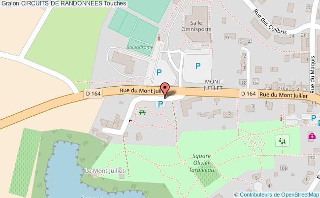 plan Site Du Mont Juillet