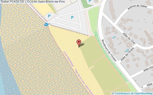 Site du pointeau plage de l 39 ocean saint brevin les pins - Office du tourisme saint brevin ...