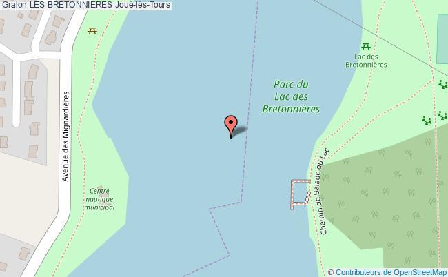 plan Site Nautique Des Bretonnières