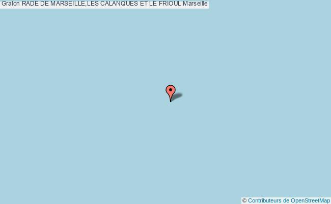 plan Sites De Plongee De L'archipel De Riou