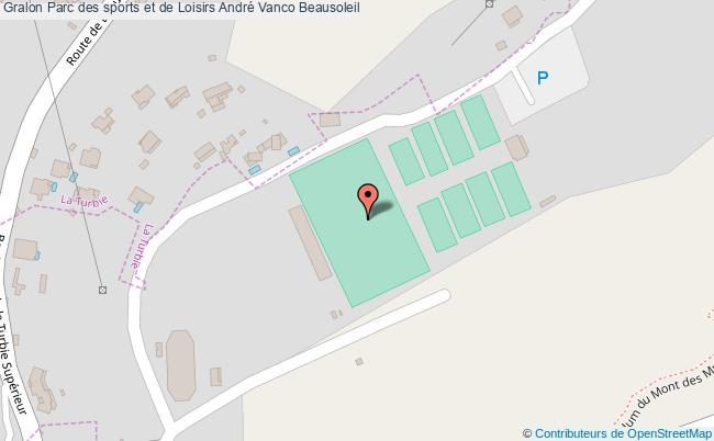 plan Stade André Vanco