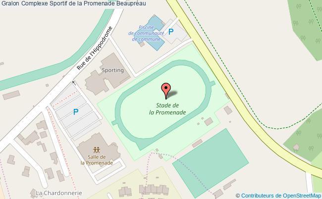 plan Stade Athlétisme De La Promenade