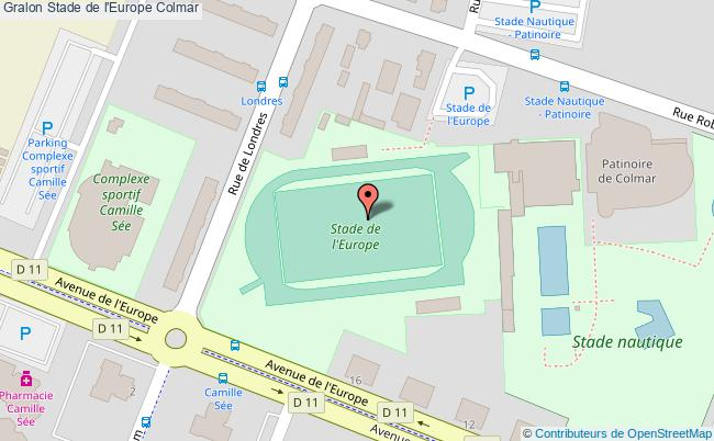 plan Stade Athlétisme
