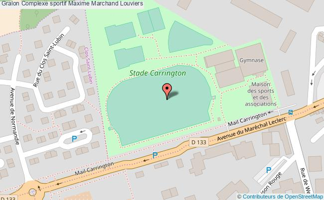 Stade Carrington Complexe Sportif Maxime Marchand Louviers