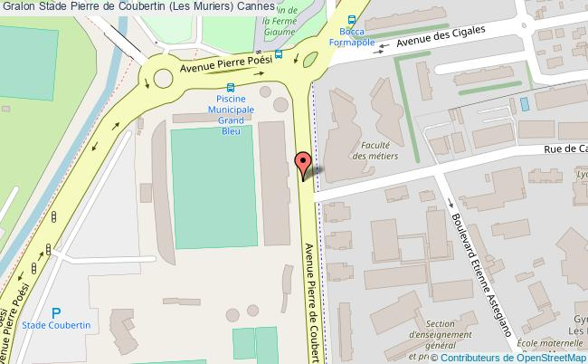 plan Stade Coubertin Tribune Est Judo