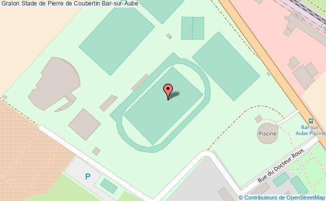 plan Stade D'athlé De Pierre De Coubertin