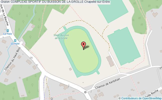 Stade d 39 athl tisme complexe sportif du buisson de la for Buisson synthetique