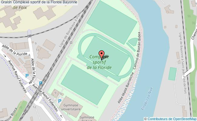 plan Stade D'athlétisme De La Floride