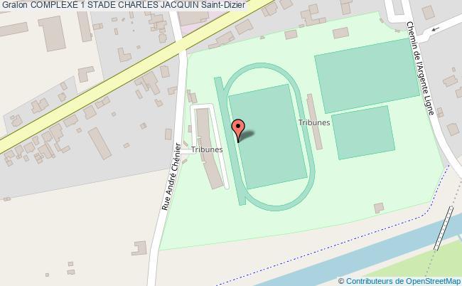 plan Stade D'athletisme Stade Charles Jacquin(35)