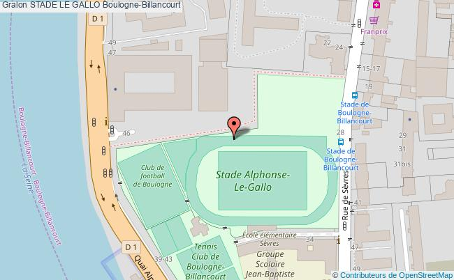 plan Stade D'athletisme