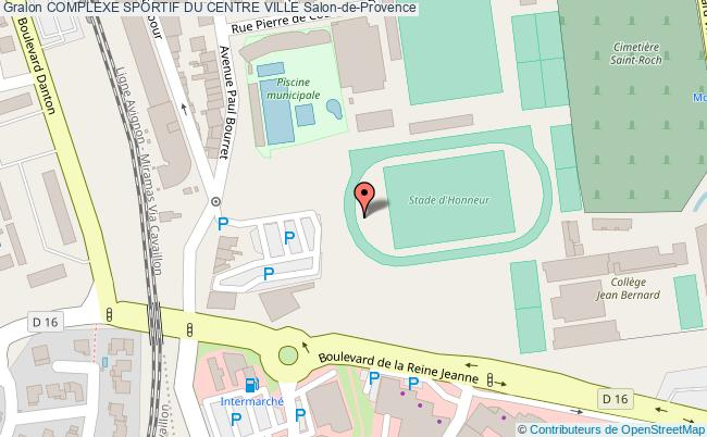 plan Stade D'honneur D'athletisme