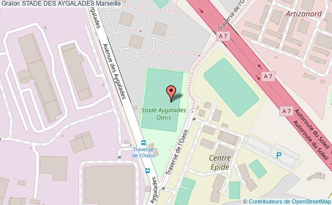 plan Stade De Football Aygalade