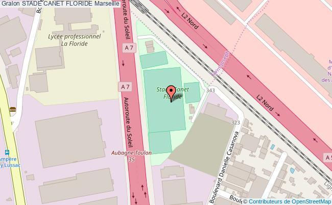 plan Stade De Football Canet Floride