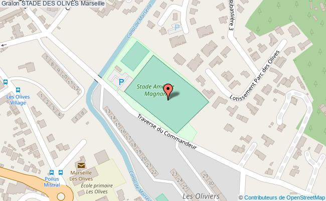 plan Stade De Football Des Olives
