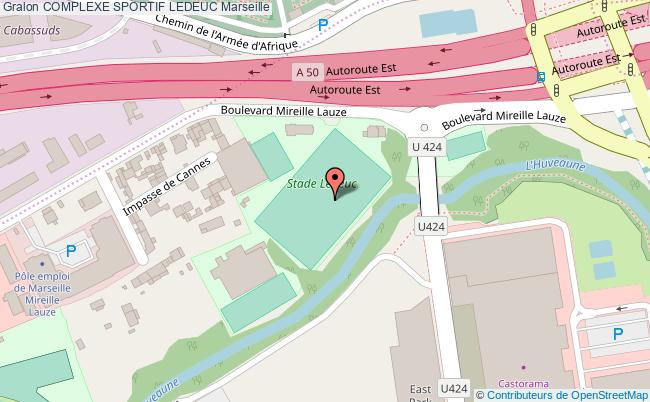 plan Stade De Football Ledeuc