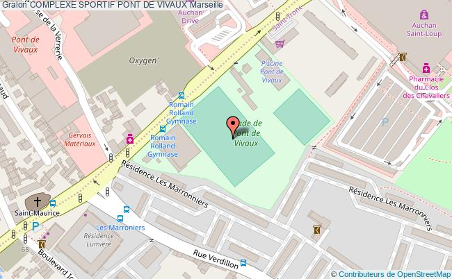 plan Stade De Football Pont De Vivaux