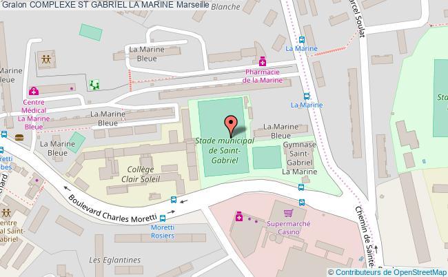 plan Stade De Football St Gabriel