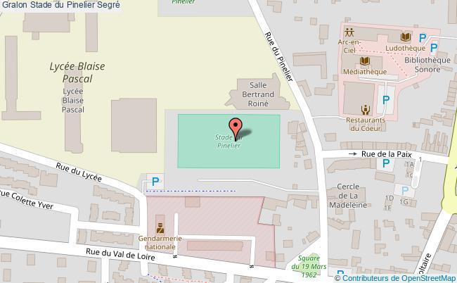 plan Stade Du Pinelier