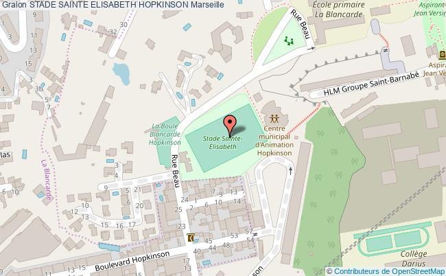 plan Stade Elisabeth Hopkinson