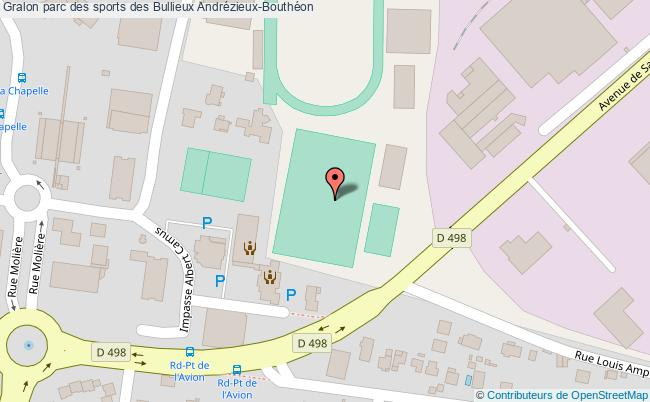 plan Stade Football Synthétique Des Bullieux