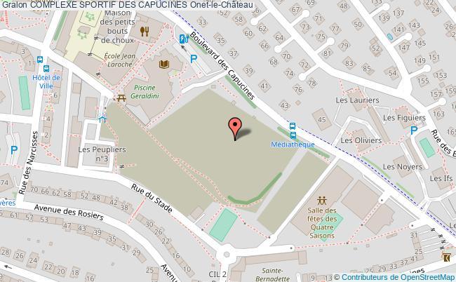 Stade georges vignes complexe sportif des capucines onet for Piscine onet le chateau