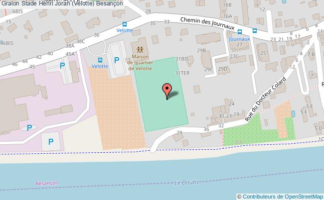 plan Stade Henri Joran