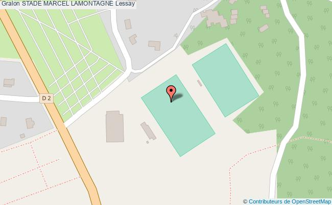 plan Stade Marcel Lamontagne
