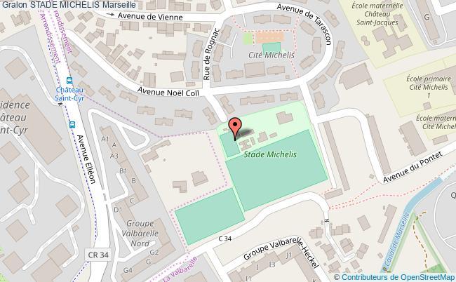 plan Stade Michelis - Terrain De Basketball