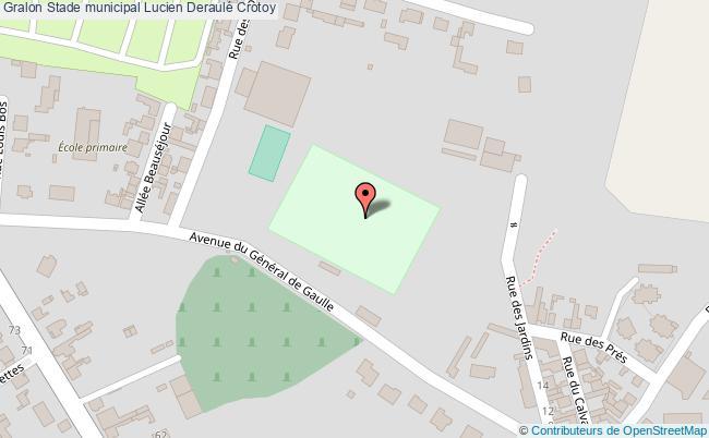 plan Stade Municipal (140 X 105)