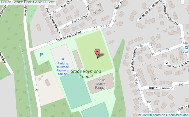 plan Stade Raymond Chapel
