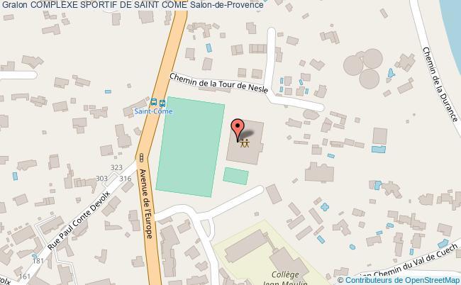 plan Stade Saint Come