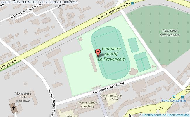 plan Stade Saint Georges