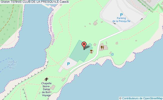 plan Tennis Club De La Presqu Ile
