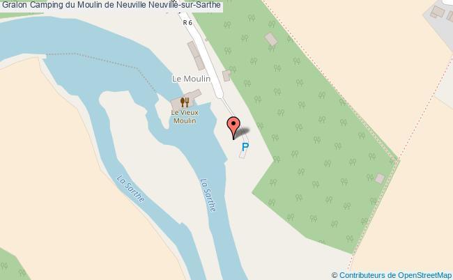 plan Terrain Communal Du Camping De Neuville